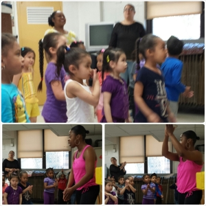 My 4 year old dance and fitness class. They are so adorable!!